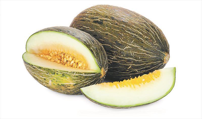 Crema de melón con virutas de jamón ibérico y aceite al aroma de menta creación de nuevos platos e innovadores en posiblemente la mejor cocina de una Borda tipica andorrana